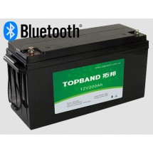 12,8В Литий-ионный аккумулятор Topband 100А*ч Bluetooth
