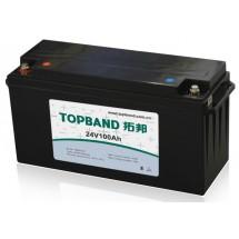25,6В Литий-ионный аккумулятор Topband 100А*ч