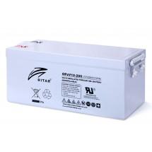 12В аккумулятор Prosolar OPzV12 200, 200 А*ч