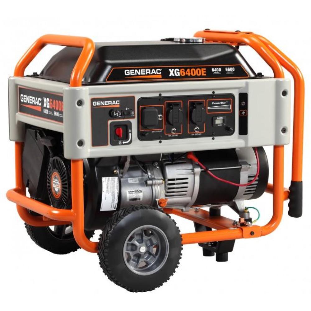 Бензиновый генератор Generac XG6400E 6,4 кВт