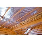Отопление с потолка