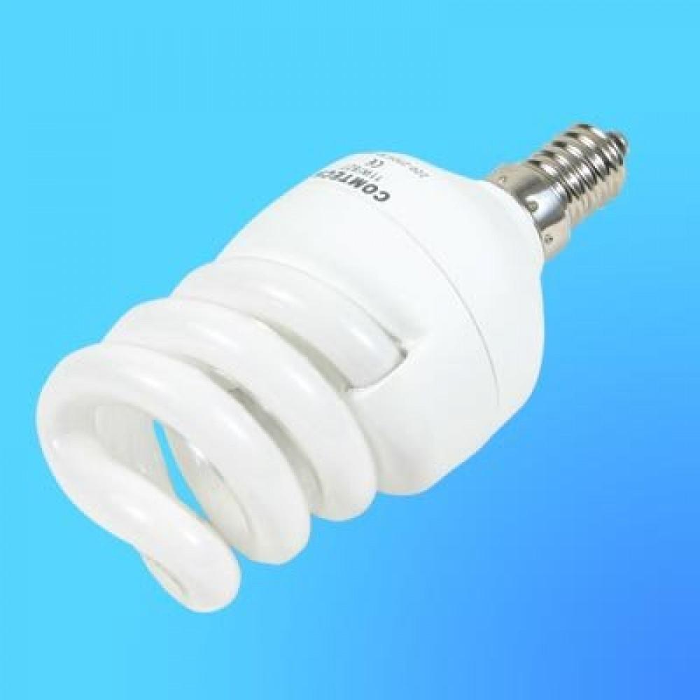 220В 13 Вт Компактная люминесцентная лампа QY-SP13M Е14