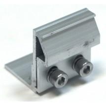 XMR-VI-08 Универсальный зажим крепление для солнечных батарей на фальцевую кровлю (Г-образный)