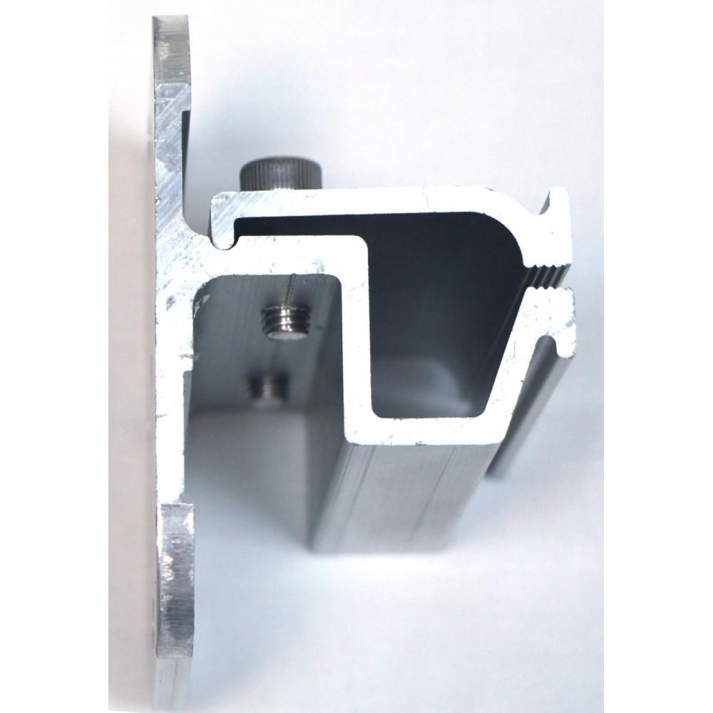 XMR-VI-11 Универсальный зажим крепление для солнечных батарей на фальцевую кровлю (Т-образный)
