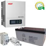 Комплект для системы отопления 900 Вт / 1500ВА 12В 1,2 кВт*ч