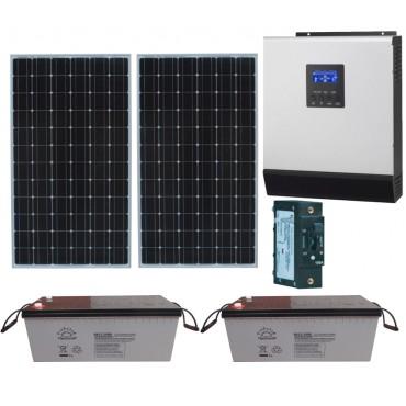 ФЭС 400-24/220, фотоэлектрический комплект для автономного электроснабжения на даче