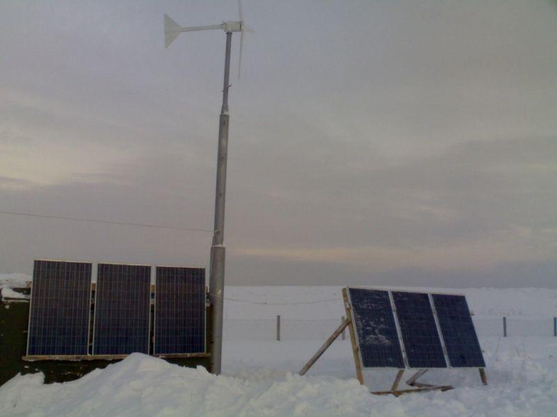 Ветроэлектрические системы